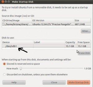 Install ubuntu from usbl inux