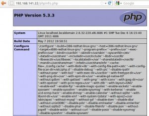 Installing Apache2 , Mysql server and PHP on Centos 6 (LAMP)