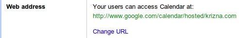 Google apps calendar services