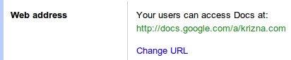 Google apps docs services