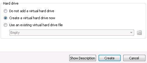 install ubuntu windows 7 virtualBox