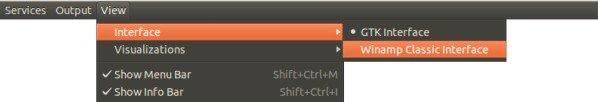 Install audacious change winamp interface