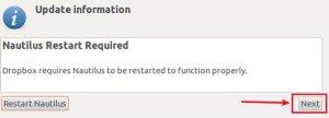 Install dropbox ubuntu 12.04