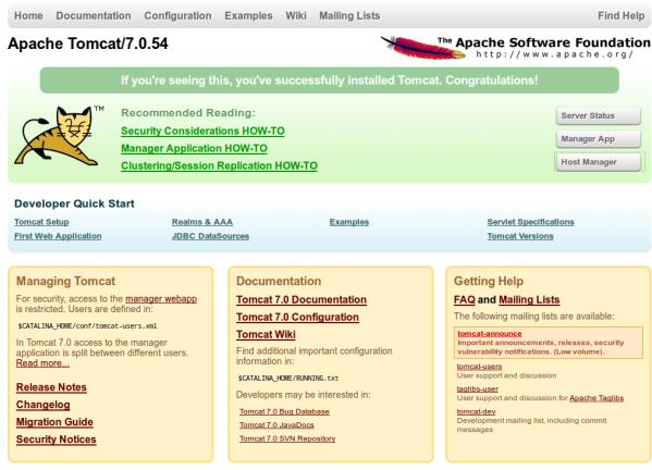 Install tomcat 7 on ubuntu 14.04