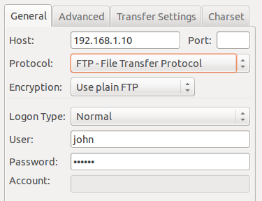 setup FTP server ubuntu 14.04
