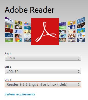 Install Adobe reader ubuntu 14.04