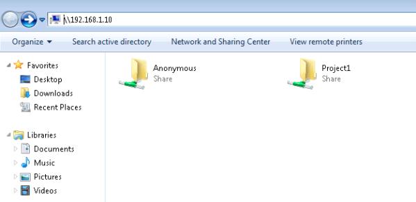 setup file server on ubuntu 14.04