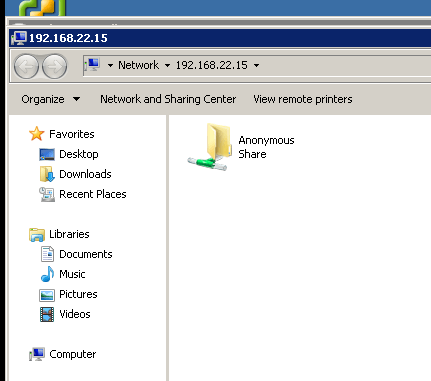Setup file server on centos 7