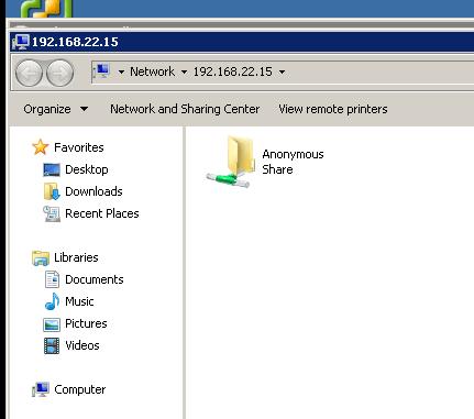 Setup file server on centos 7 – Step by Step
