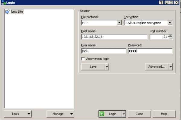 Setup ftp server ubuntu 16.04