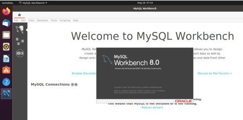 Install MySQL workbench on Ubuntu 20.04