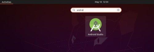 Android studio ubuntu 20.04